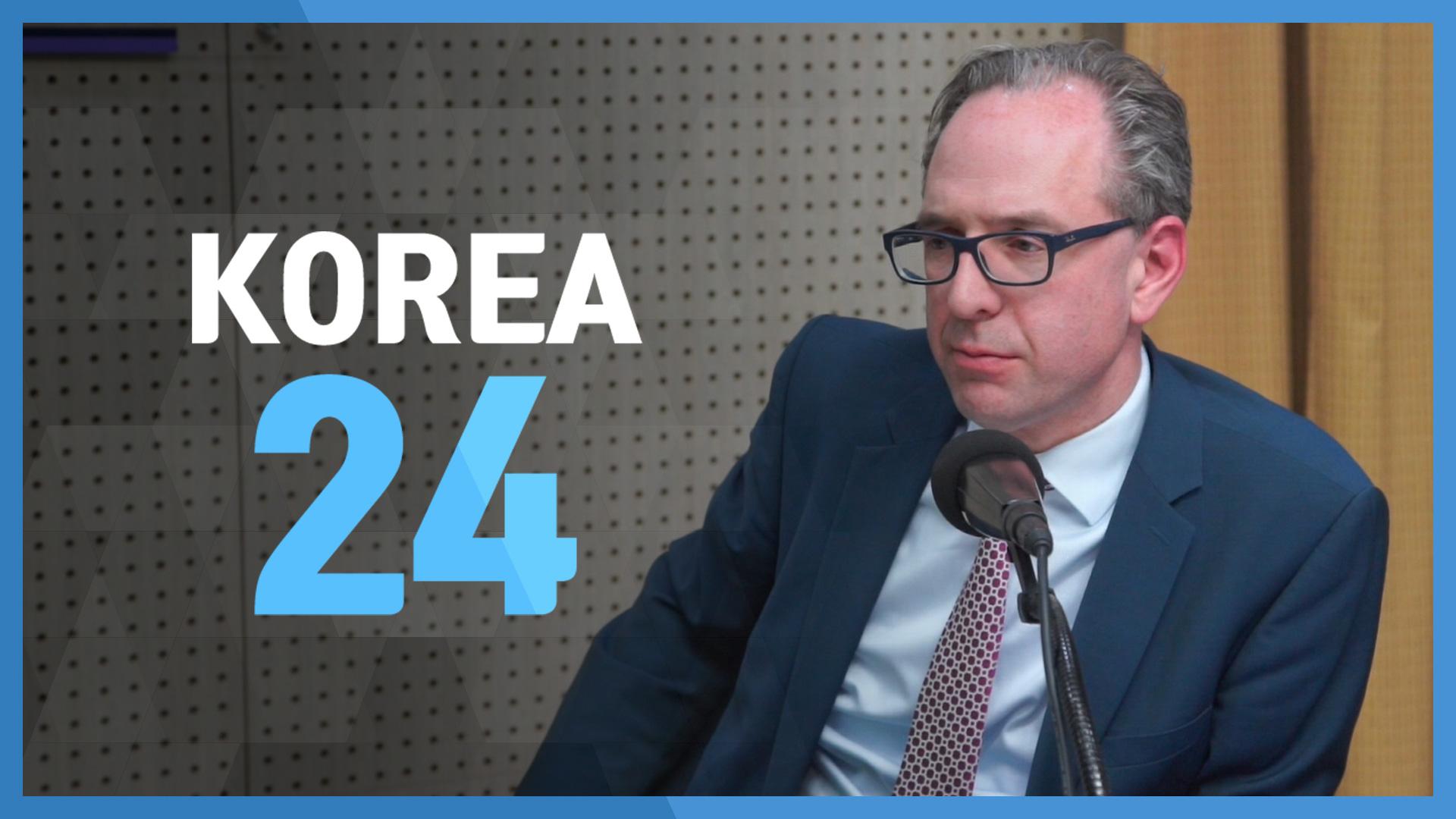 Irish Ambassador to Korea. H.E. Julian Clare