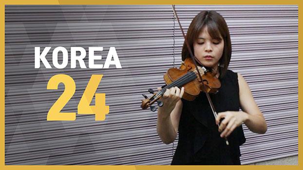 Lee Jiyoon (J.S. Bach: Partita for solo violin No.3 BMV 1006 - Gavotte en Rondeau)