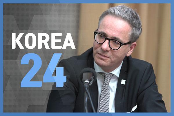 Swedish Ambassador to Korea, H.E. Jakob Hallgren