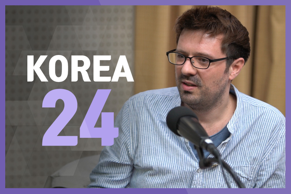"Neil George, Director of Sewol Ferry Documentary ""Crossroads"""