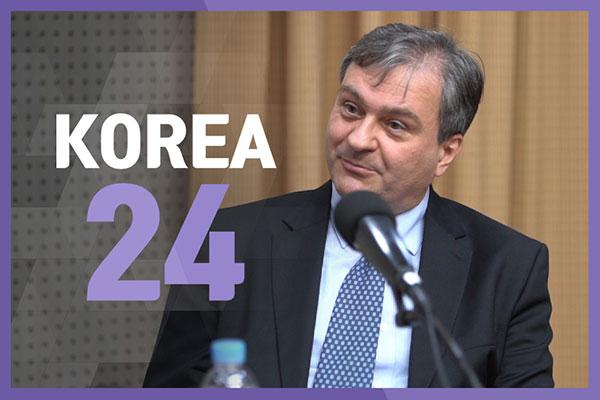 Croatian Ambassador to South Korea Damir Kusen