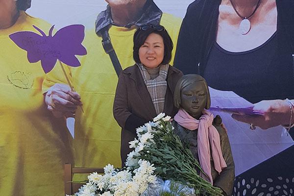 시드니 '평화의 소녀상' 건립에 힘쓴 박은덕 변호사