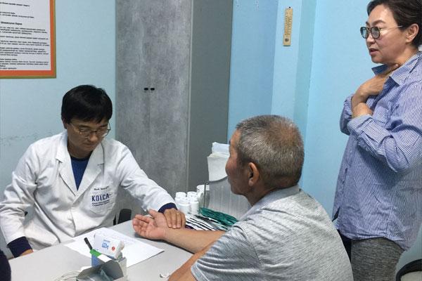 세계로 떠난 글로벌협력의사들… 몽골의 한의사, 문성호