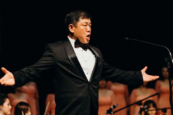 호주 오페라단 첫 아시아계 성악가, 테너 김진태