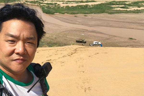 쿠부치사막에 미래를 심다… 나무를 심은 사람, 권혁대