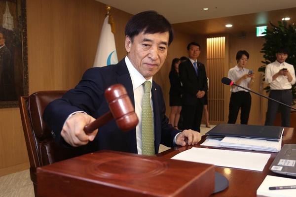 Nouveau gel du taux directeur par la Banque de Corée