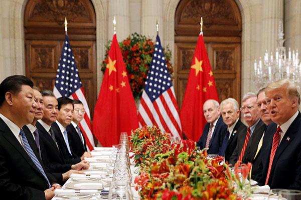 アメリカと中国が貿易戦争の「一時休戦」で合意