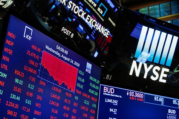Sorgen um eine Rezession belasten die Finanzmärkte