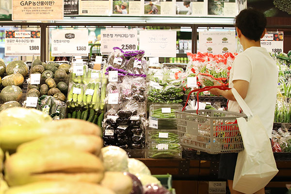Chỉ số giá tiêu dùng tại Hàn Quốc giảm, nỗi lo về nguy cơ giảm phát