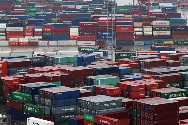 Südkoreas Exporte 2019