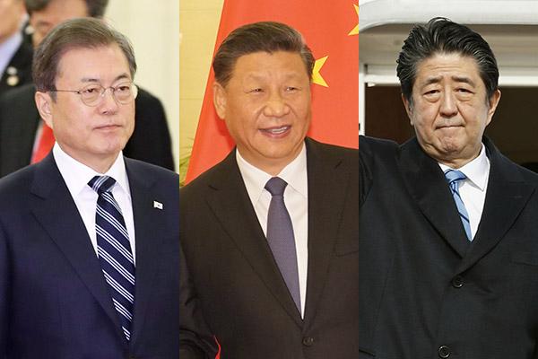 聚焦韩中日领导人会议