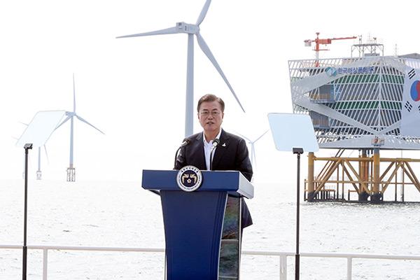 한국판 뉴딜에 2025년까지 160조 투자