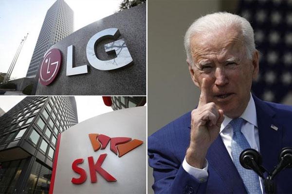 LGとSKが自動車用電池をめぐる紛争で和解に合意