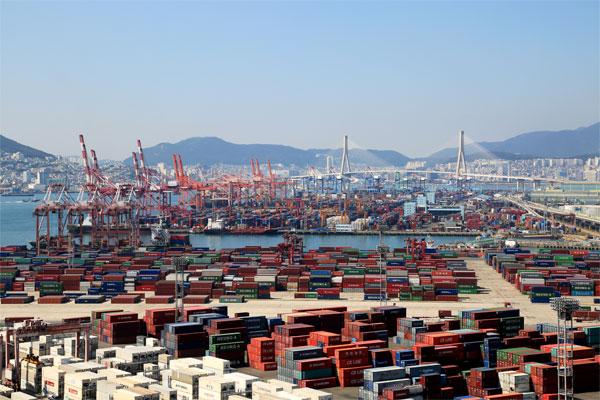 韩国5月出口增幅创32年来最大值