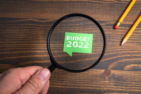 Gobierno propone un presupuesto récord para 2022