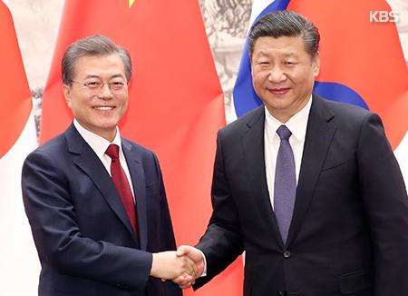 Keberhasilan Kunjungan Kenegaraan Presiden Moon Jae-in ke China dan Tugas-tugas yang Menunggu