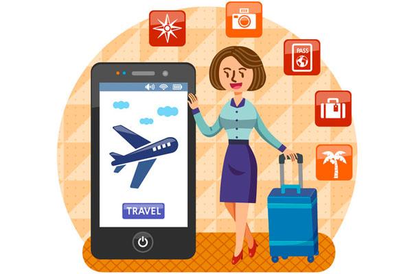 ستة من بين كل عشرة مسافرين كوريين يحجزون مقاعد الطائرات والفنادق عبرالوسائط المتنقلة
