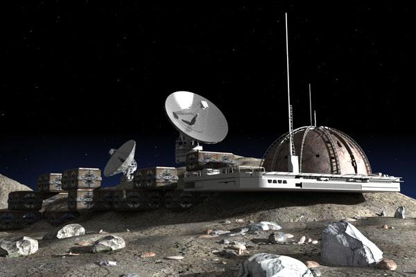فريق بحث كوري يبتكر أول مختبر في العالم يحاكي بيئة القمر