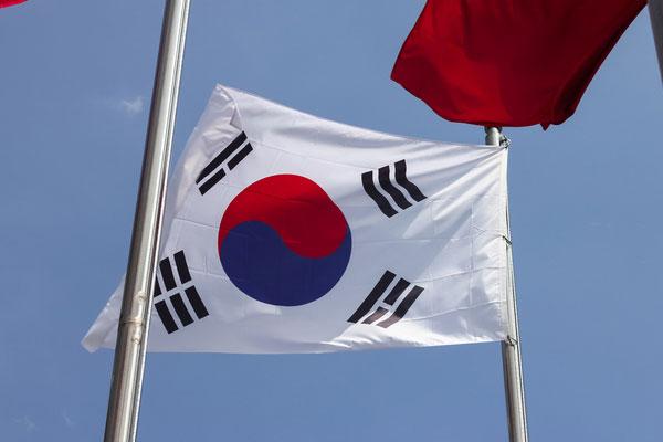 الملاكم الأمريكي فلويد مايويثر يظهر بقميص يحمل العلم الكوري
