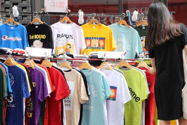 ارتفاع حجم مبيعات الملابس الصيفية