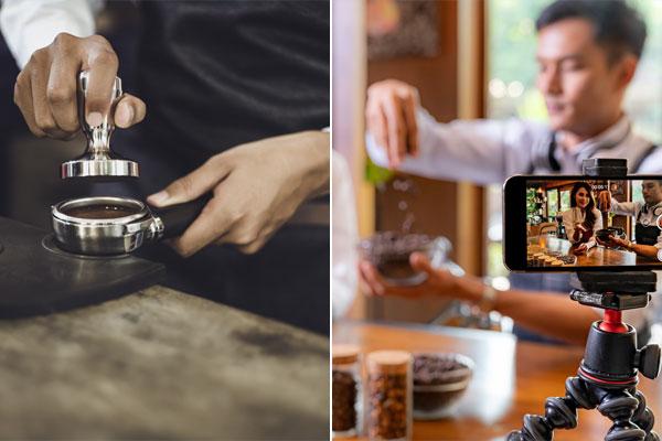 تصاعد الجدل بشأن العمل والتصوير في المقاهي