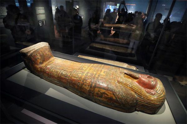 تمديد فترة عرض جناح مصر في المتحف الوطني المركزي