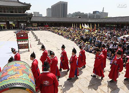 تنظيم المهرجان الثالث للقصور الملكية في سيول
