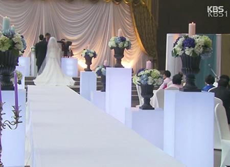 تغيرات كبيرة في طقوس حفلات الزواج في كوريا