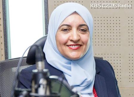 السيدة/ إيمان الضمور: عمل زوجة السفير مكمل لعمل السفير