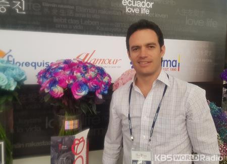 Flores Ecuatorianas hechizan al público coreano