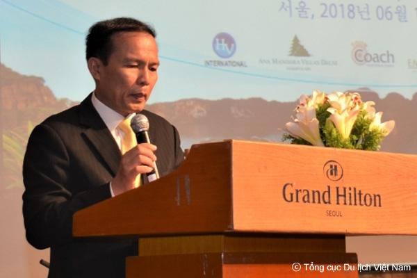 """""""Chưa bao giờ mối quan hệ hợp tác và tốc độ tăng trưởng khách du lịch giữa Việt Nam – Hàn Quốc tốt đẹp như bây giờ"""""""