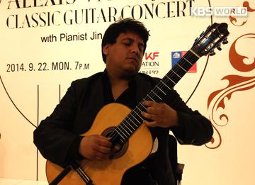 Otoño romántico junto al guitarrista chileno Alexis Vallejos