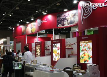 Yerba mate argentina y pisco chileno en el Seoul Food 2015