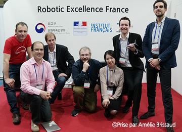 La France, invitée d'honneur de Robotworld 2016