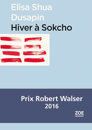 « Hiver à Sokcho » d'Elisa Shua Dusapin