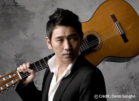 Denis Sungho, directeur artistique pour l'événement exclusif de préouverture des JO d'hiver de PyeongChang 2018