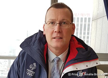 Eric Monnin, spécialiste de l'olympisme