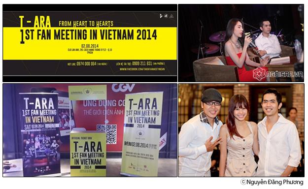 Fan meeting của T-ara lần đầu tiên tại Việt Nam