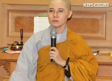 """""""Ước nguyện của tôi là thành lập một ngôi chùa cho các Phật tử Việt Nam tại Hàn Quốc"""", sư cô Giới Tánh"""