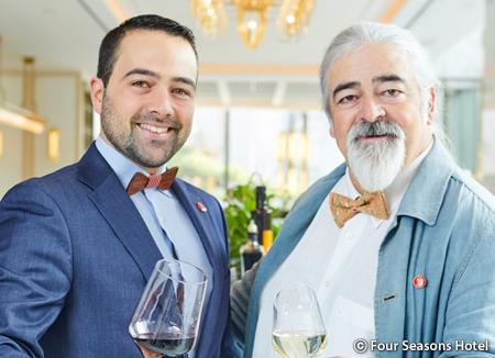 Luis y Alejandro Paadín, sumilleres gallegos