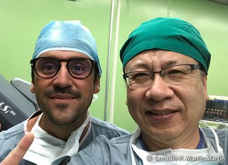 Gonzalo Martín explica el desarrollo de la cirugía robótica en Corea
