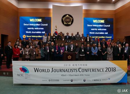 Francis Zambrano habla del papel de prensa en la paz mundial