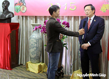 Gặp gỡ một cộng tác viên của Đài truyền hình Kỹ thuật số VTC (Việt Nam) tại Hàn Quốc