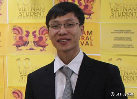Lê Huy Việt và ước mơ tạo ra sân chơi cho người Việt tại Hàn Quốc