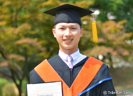 Cựu du học sinh nay là Trợ lý quản lý bộ phận R&D một công ty lớn của Hàn Quốc tại Việt Nam
