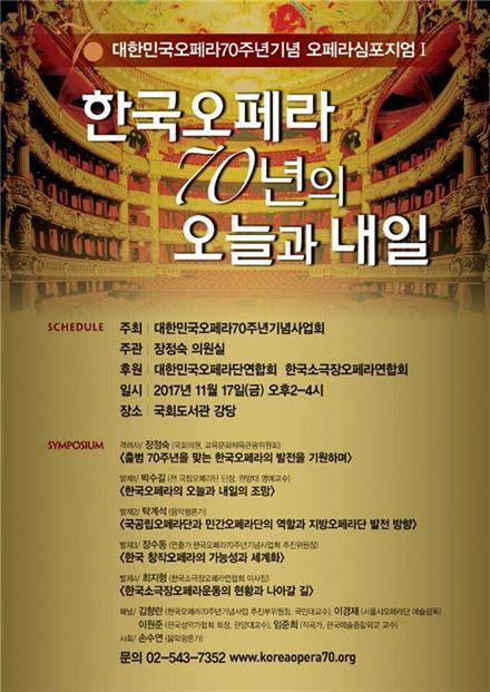 70. Jubiläum der Oper in Korea