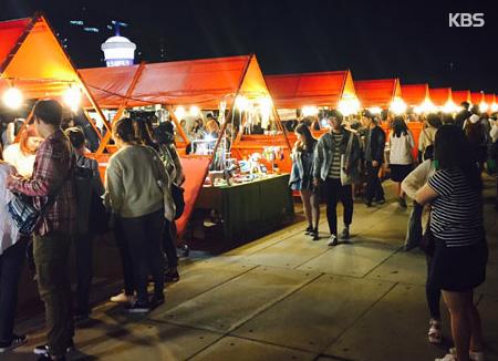 Vorveranstaltung für den Seoul Bam-Dokkaebi-Nachtmarkt