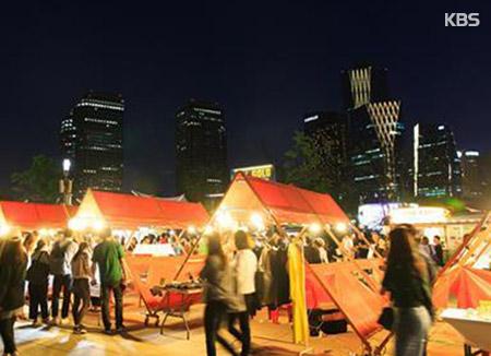 Der Bamdoggaebi-Nachtmarkt hat wieder geöffnet