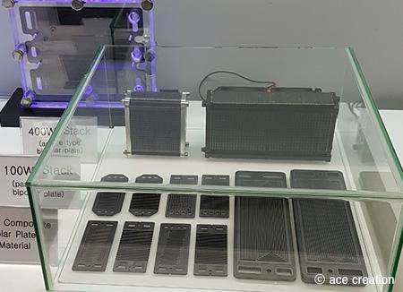 水素燃料電池用の分離板を手がける「エース・クリエーション」