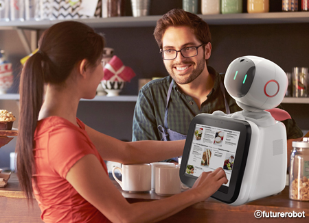 サービスロボットを開発・製造する「ヒューチャーロボット」